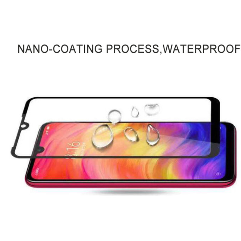 Image 4 - 2 in 1 Camera Glass Redmi Note 7 Tempered Glass Screen Protector Xiaomi Redmi Note 7 Glass Film redmi note 7 screen protector-in Phone Screen Protectors from Cellphones & Telecommunications