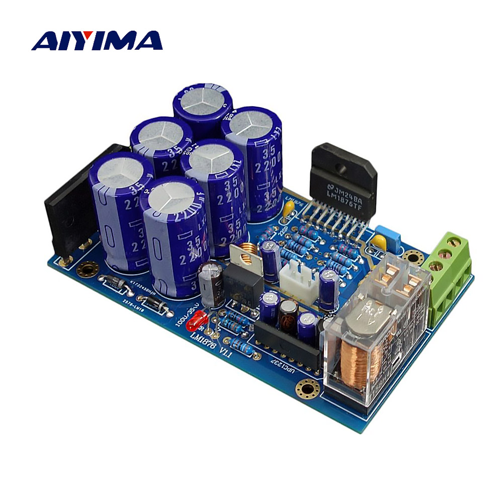 Aiyima 2018 Gc Version Lm4766 Audio Amplifier Board Amplificador 40w Kit Hifi Diy Low Power Circuit Lm1876 Kits 30w2 Dual Channel Stereo