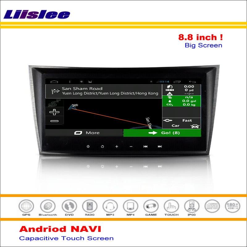 Liislee Voiture Android GPS NAV NAVI Système de Navigation Pour Mercedes Benz Classe E W211 2002 ~ 2007 Radio Audio Vidéo (pas de Lecteur DVD)
