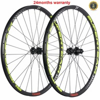 SUPERTEAM Carbon MTB Wheels 29er MTB Wheelset MTB Bike Wheels Alex Thru Mountain Bicycle Wheels