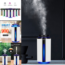 New 900ML Air Humidifier Ultrasonic USB Diffuser Aroma Essential Oil 7 Color LED Night light Cool Mist Purifier Humidificador #