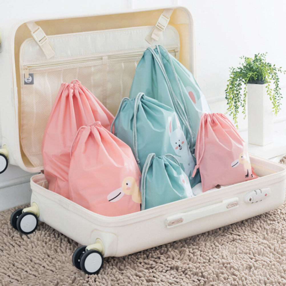 3 Pcs/set Waterproof Travel Bags Organizer For Clothe Shoes Underwear Socks 3 Size 4 Colors To Choose