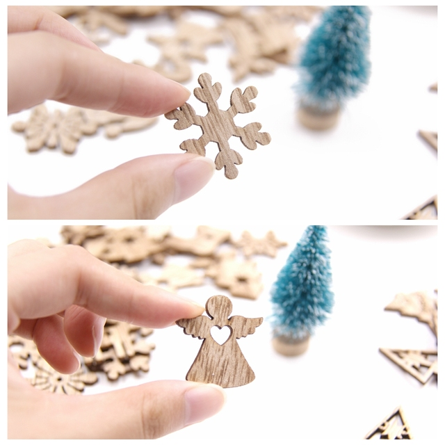 Mini Wooden Ornaments for Home Decoration