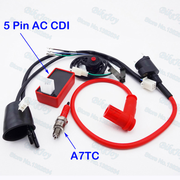 wiring loom harness kill switch racing ignition coil 5 pin ac cdi rh aliexpress com motorcycle wiring loom manufacturers motorcycle wiring loom connectors