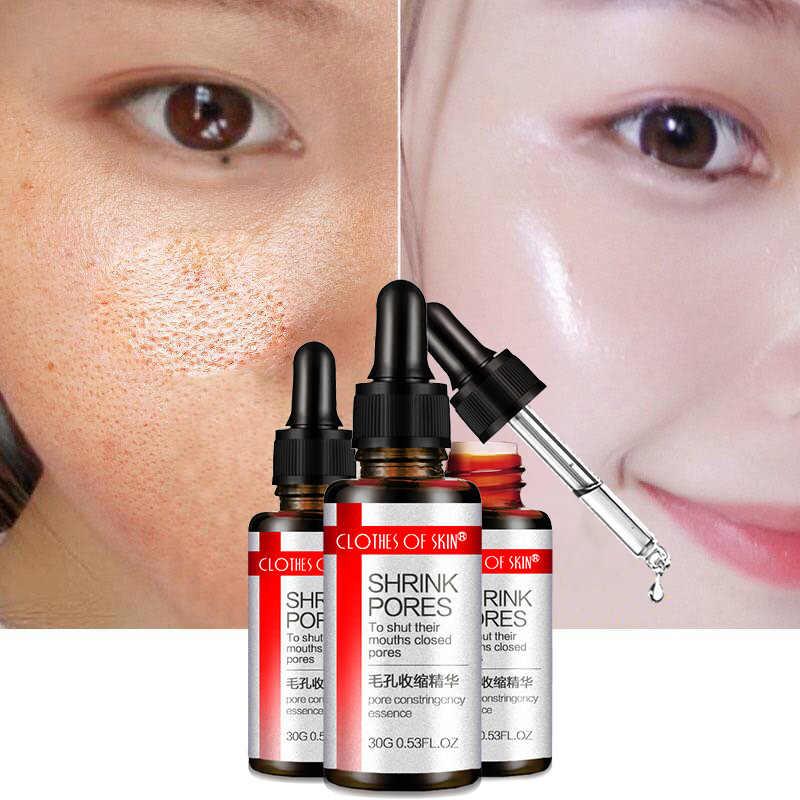 العناية بالبشرة الوجه السائل تبييض ترطيب تقليص المسام المضادة للتجاعيد النخبة السائل كريم 1 زجاجة عنبية جوهر حمض T3