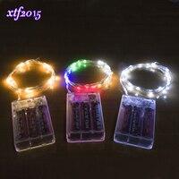 100/200/500/1000 adet için Toptan 4 M 40-LED Bakır Tel Dize Işık Cam Zanaat Şişe peri Sevgililer Düğün Dekorasyon Lamba