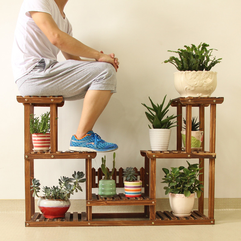 Popular Garden Shelves Wood-Buy Cheap Garden Shelves Wood ...