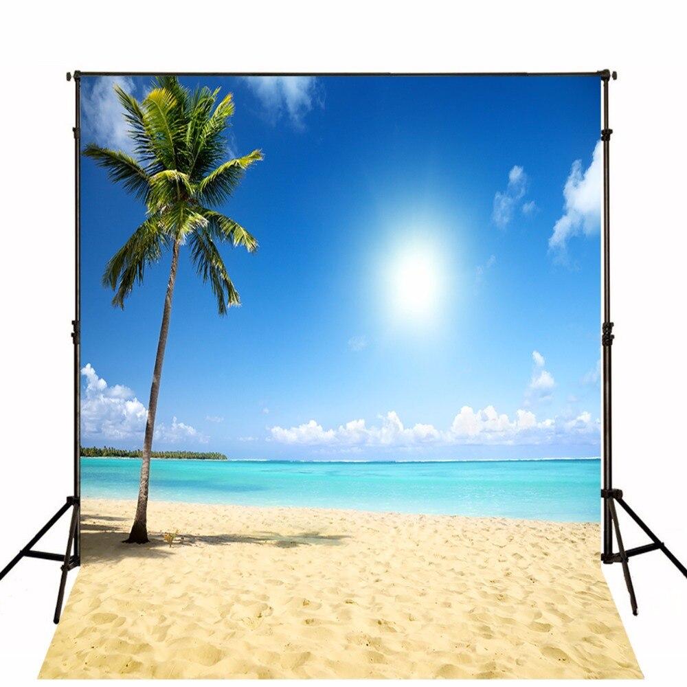 Arrière-plans photographiques vinyle arrière-plans Photo Toile De Fond arrière-plans De plage d'été pour Studio De Photo