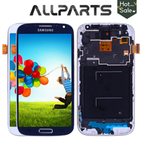 5 0 Super TFT LCD For SAMSUNG Galaxy S4 LCD Display With Frame GT I9505 I9500