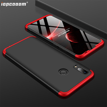 For Huawei P Smart 2019 Case GKK 3 in 1 Business Comprehensive protection Phone Back Cover Coque