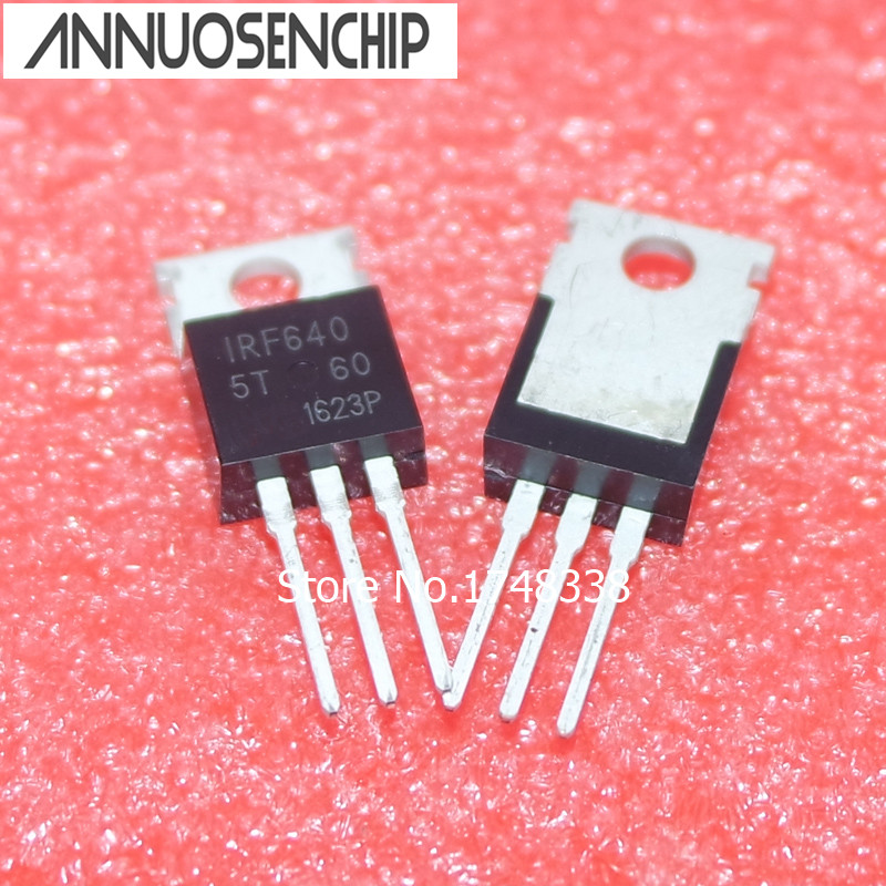 50PCS New IRF640 IRF640N Power MOSFET 18A 200V TO-220 IRF640NPBF 5pcs irf640 irf640n irf640npbf to 220