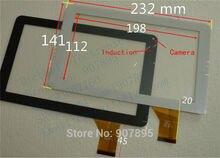 TYF1067-20121227-V1 HK90DR2027 JQ90004FP-01 TYF1067 9 pulgadas de pantalla táctil capacitiva panel de la pantalla táctil de Cristal Para tablet pc