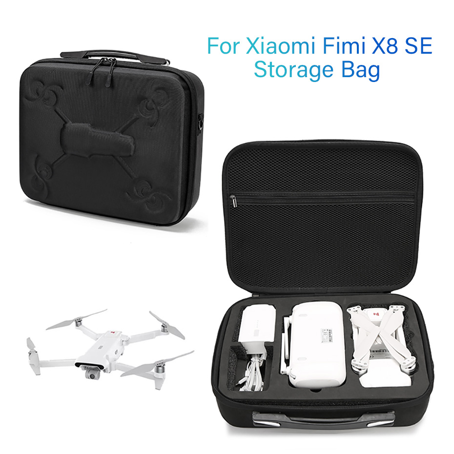 Drone Bags Hard Skin Storage Hand Bag For Xiaomi Fimi X8 SE RC Quadcopter Carrying Portable