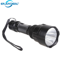 Good Wholesale Super Bright CREE Q5 LED 345 Lumen Max 5 Modes Aluminium Alloy Waterproof Flashlight