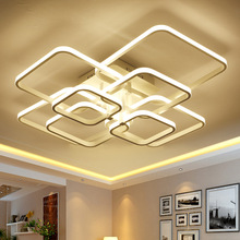 Modern led lamp with acrylic remote control for living room bedroom ceiling lamps free shipping free shipping led living room wall lamp modern brief ofhead lamps bottle lamp 1276