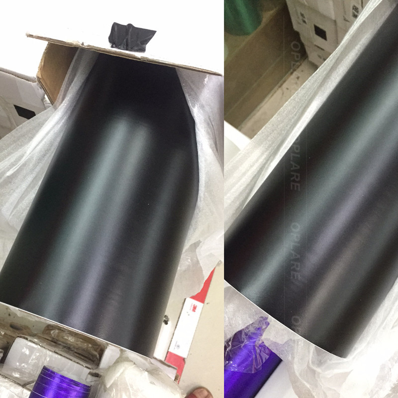 Matte black Vinyl Car Wrap Car Motorcycle Scooter DIY Styling Adhesive Film Sheet With Air Bubble Free Sticker Size: 5x65FT car styling wrap glossy pink car vinyl film body sticker car wrap with air free bubble for vehiche motorcycle 1 52 20m roll