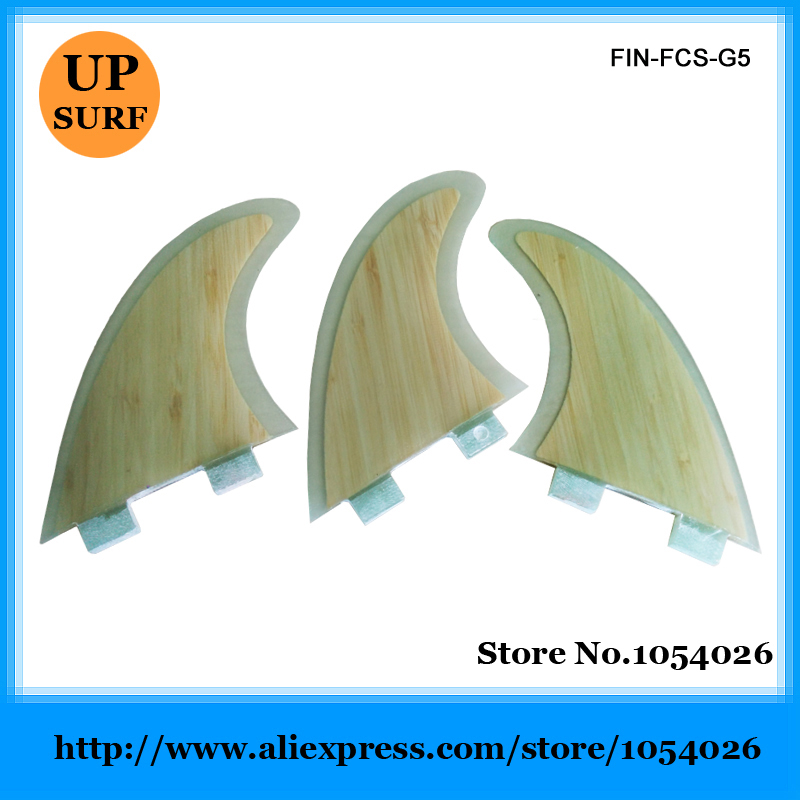 Quilhas FCS Surf Fins Surfing Fin Bamboo Base Quilhas de Surf от Aliexpress INT