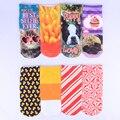 2017 Nuevos Animales Lindos Patrones Mujeres/Hombres/Niños Calcetines de algodón Calcetines de Corte Bajo de Tobillo Verano 3D Moda de Navidad calcetines