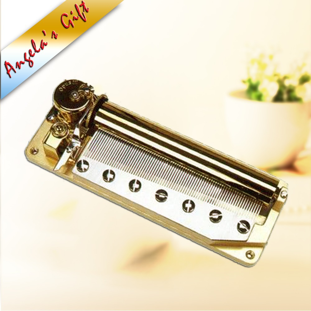 78 notes luxury music box mechanism, musical movements with 2-tune drum, unusual gifts, home decor free shipping Angelas gifts
