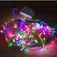 Christmas Lights Outdoor Decoration Net 100 Led String Lights New Year Wedding Party