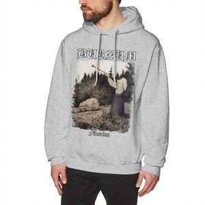 Image 4 - Burzum Hoodie Burzum   Filosofem Abdeckung Ver2 Hoodies Lange Länge Baumwolle Pullover Hoodie Lose Große Kühlen Winter Mens Grau Hoodies