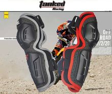 Compare Prices Free shipping, TANKED RACING 4Pcs Kit Black Motorcycle Motorbike Bike Elbow and Knee Protector for Adults Shin Armor Guard Pads
