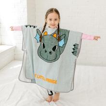 Новинка; Большой размер; детский пуловер с капюшоном и рисунком животных; банный халат; Банное полотенце; домашняя одежда