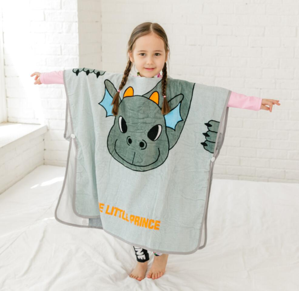 New Large Size Children Cartoon Animal Hooded Pullover