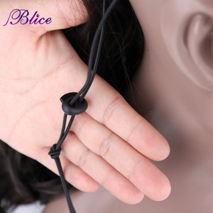 """Image 3 - Blice Synthetic Curly Ponytail 20"""" 22"""" Ponytail Hair Extensions Long Hairpiece With Two Plastic Combs Drawstring Style"""