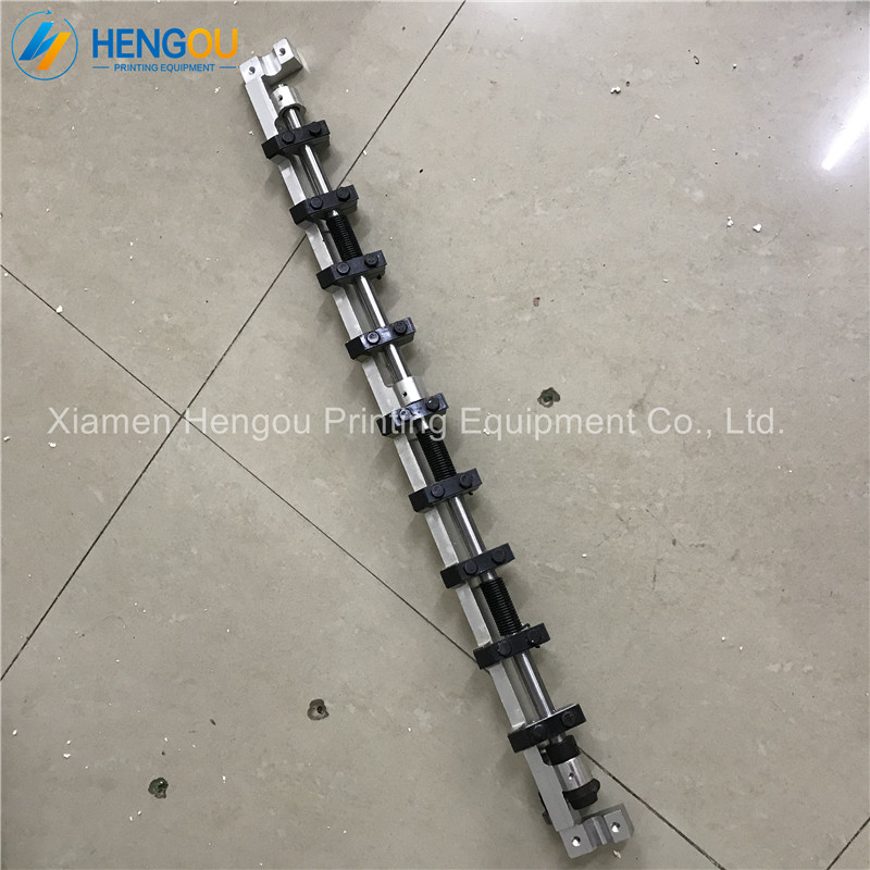 2 Pieces DHL Free Shipping KORD62 gripper bar length 675mm Delivery Gripper Bar Hengoucn Kord 62 Parts2 Pieces DHL Free Shipping KORD62 gripper bar length 675mm Delivery Gripper Bar Hengoucn Kord 62 Parts
