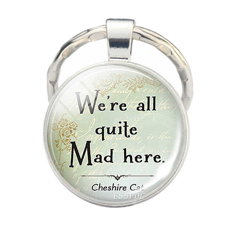 ที่ดีที่สุดเพื่อนน้องสาวเราเลือก,จี้อ้างแก้วเครื่องประดับ Cabochon พวงกุญแจ Key Chain