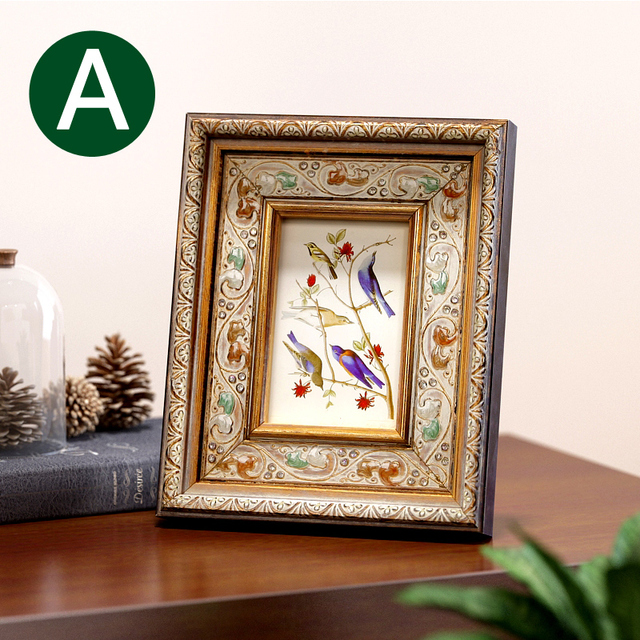 American Continental Retro Photo Frame Swing Sets 7 Inch Seven