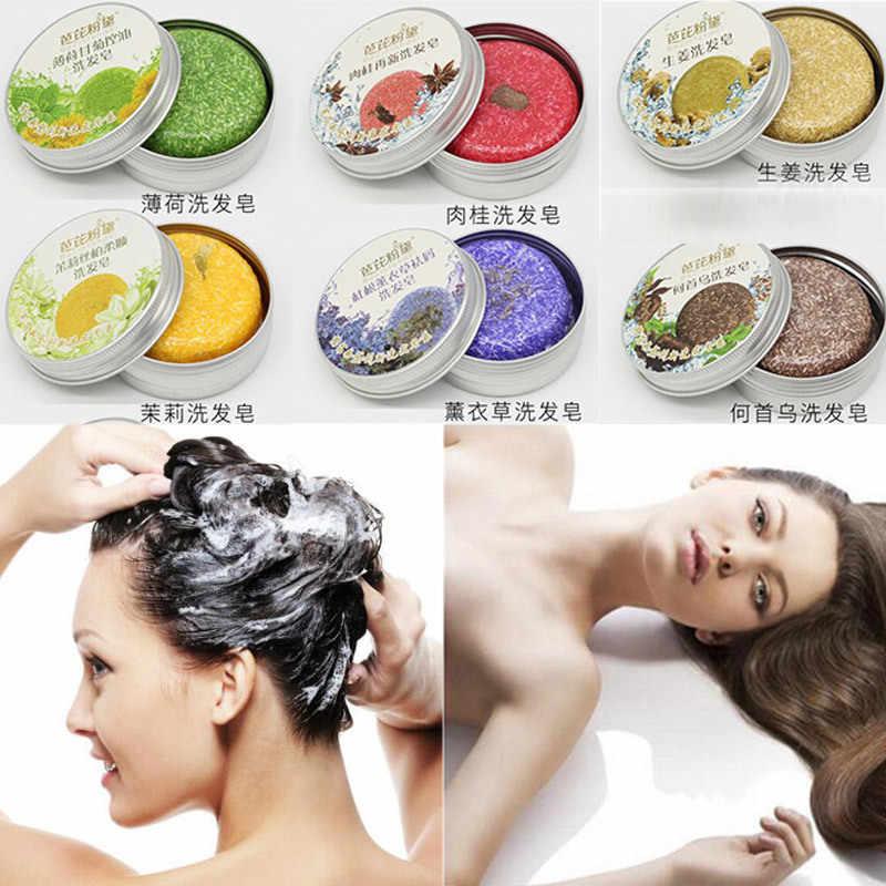 6 цветов живое растение масло ручной работы шампунь для волос мыло холодная обработка корицы Твердый шампунь для женщин чистые волосы шампуни Уход за волосами