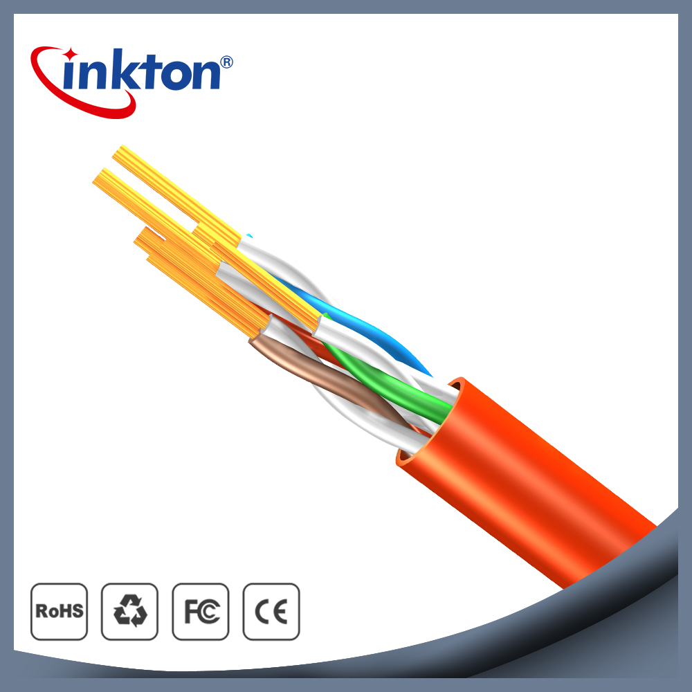 Inkton Rj45 Cat5e Utp Patch Cord 8 Cores Lan Cable Pvc Jacket 4m Cat 5e Network Ethernet Lead Wire For Computer Router Laptop Internet 05m 1m 15m 2m 3m In Cables From
