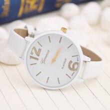 Fashion Women Bracelet Watch Geneva Famous brand Ladies Faux Leather Analog Quartz Wrist Watch Clock Women relojes mujer 2017