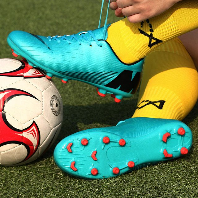 2019 Soccer Shoes Professional Football Boots Suferfly Cheap Futsal Sock Cleats Training Sport Sneakers Zapatos De Futbol Child