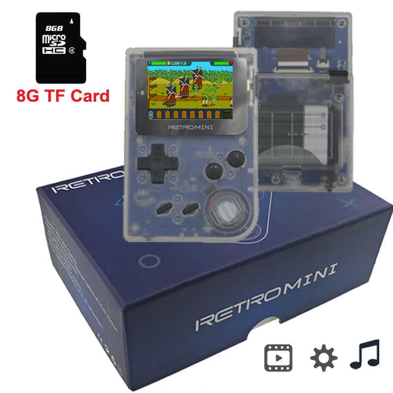 محمول صغير اجهزة اللعبة الالكترونية المحمولة ريترو لعبة وحدة