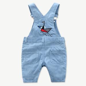 Image 5 - Newborn Clothes Toddler Boy Hat Romper Clothing Baby Set 3PCS Cotton Bib Long sleeved Jumpsuit Suit Boys Fashion Outfit 3 6 24M