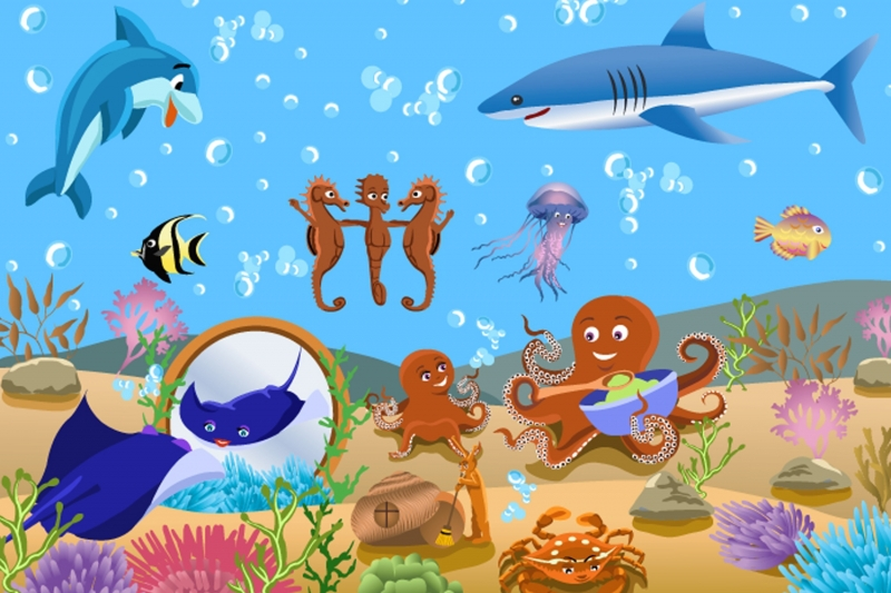 Online get cheap childrens entertainers kids aliexpress for Child mural wallpaper