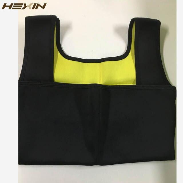c24790dab1f77 HEXIN Neoprene Vest Waist Trainer Fajas Sweat Body Shaper Slimming Shapewear  Tank Top Workout Corset Underbust