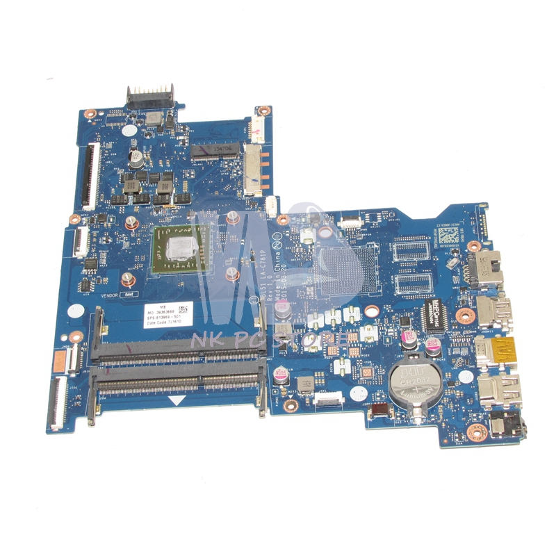 NOKOTION 813969-501 813969-001 Main Board For HP 15-AF Laptop Motherboard ABL51 LA-C781P DDR3 Full tested nokotion 814611 001 818074 001 laptop motherboard for hp 15 af series abl51 la c781p mainboard full test