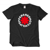 RHCP Red Hot Chili Peppers T Shirt Men ROCK Music Special T Shirt For Fans Basic