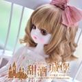 NEW !!  1/3 BJD wig short hair curly  hair  doll  DIY High-Temperature Wire for 1/3  DD  BJD SD doll hair