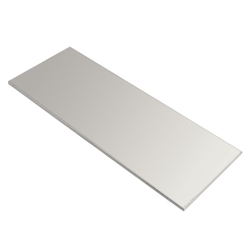 261 x 100 x 4mm Titanium Ti Grade.5 Grade 5 6al-4v Plate Sheet Super Corrosion Resistance 100% 4 5