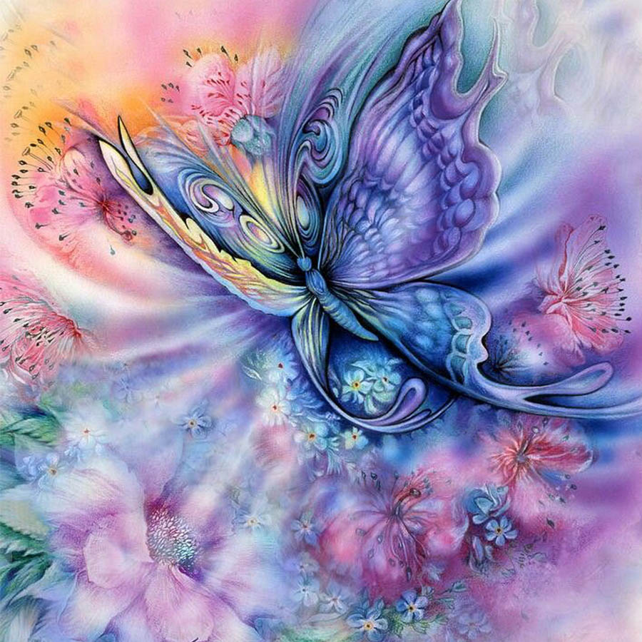 Butterfly-flowers-nimal-new-arrival-DIY-Crystal-full-drill-square-5D-diamond-painting-cross-stitch-kit