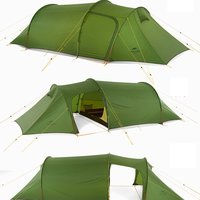 Naturehike Practical Ultralight Tunnel Tent For Three Men 3 Persons Camping Hiking Travelling 3 Season
