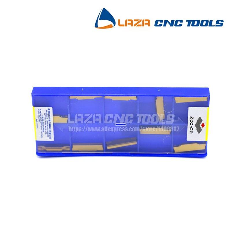 10pcs ZCC.CT ZTED02503-MG YBC251 CNC Carbide Insert Blades