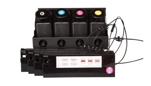 UV Bulk Ink System For Roland Mimaki Mutoh Large Format Printers 4 Bottle