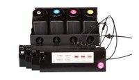 UV bulk ink system for Roland/Mimaki/Mutoh large format printers 4 ink bottle + 4 UV ink cartridge CISS