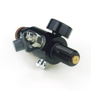 Image 4 - Nieuwe Paintball Air Gun Airsoft PCP 4500PSI HPA Air Tank Regulator Valve Output Druk 800/1000/1200/ 1800/2000PSI M18 * 1.5 Draad